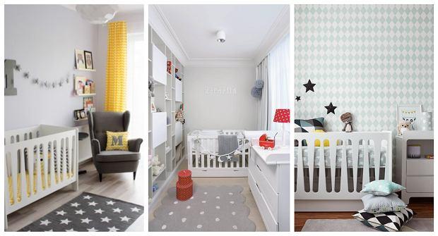 Pokoje niemowlaków w modnej kolorystyce