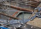Nowy przeciek na budowie metra: na placu Defilad