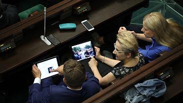 19.07.2018, posłowie w Sejmie.