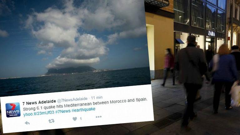 Wstrząsy były odczuwalne w Hiszpanii i Maroku