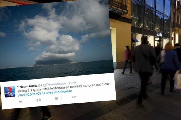 Wstrz�sy by�y odczuwalne w Hiszpanii i Maroku