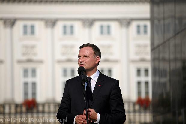 Bo�ena Krzy�anowska do Andrzeja Dudy: Niech Pan b�dzie prezydentem rzeczywi�cie dobrych zmian