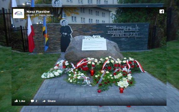 Pomnik Jerzego Popiełuszki w Piastowie