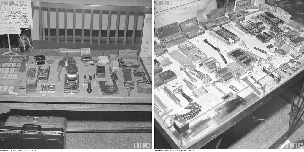 Maszynki do golenia, lata 70. (fot. Grażyna Rutkowska / Narodowe Archiwum Cyfrowe)