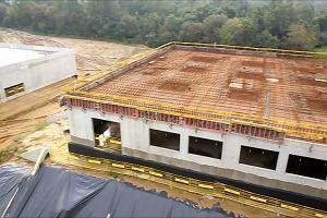 Zobacz, jak rośnie nowy Szpital Uniwersytecki w Krakowie