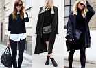 Czarne ubrania - zobacz, jak je modnie nosić w tym sezonie