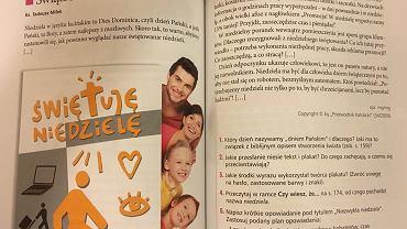 Fragmenty podręcznika do języka polskiego 'Jutro pójdę w świat'