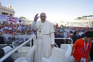 Papie� Franciszek: Ludzie wol� mie� psa ni� dziecko
