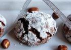 Pękające ciasteczka czekoladowe  - Zdjęcia