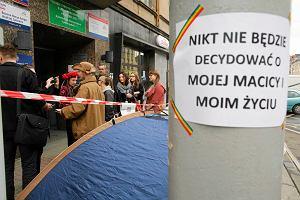 Sąd za dwutygodniowy protest pod siedzibą PiS w Katowicach