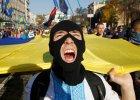 Budynek parlamentu w Kijowie zosta� ostrzelany przez uczestnik�w marszu UPA
