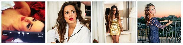 Znana piosenkarka i modelka pokazuje jak wykona� makija� dzienny
