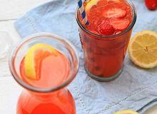 Lemoniada truskawkowa - ugotuj