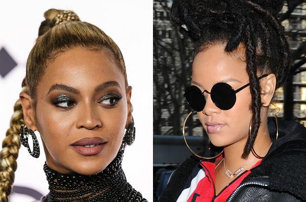 Fani Rihanny źle przyjęli fakt, że ich idolka nie dostała nominacji w najważniejszych kategoriach nagród Grammy. Dostało się od nich Beyonce, która zgarnęła wszystko. Sprawę, trochę przez przypadek, skomentowała Rihanna.