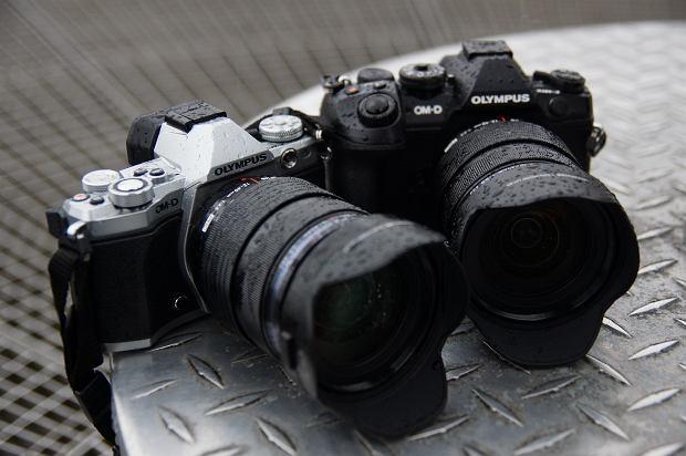 Aparaty Olympus E-M5 Mark II i E-M1 Mark II z obiektywem M.ZUIKO DIGITAL ED 12-40 mm 2.8 PRO