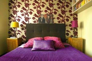 Stylowa sypialnia po metamorfozie