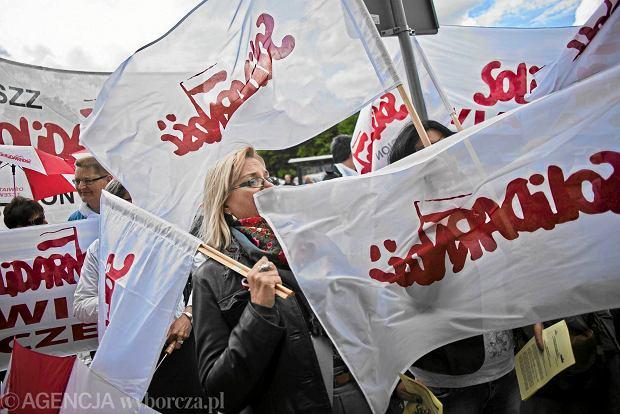 """Pracownicy zwolnieni po za�o�eniu zwi�zku zawodowego """"Solidarno��"""""""