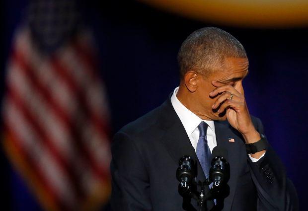 Barack Obama - pożegnanie prezydenta USA