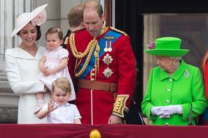 Ksi�na Kate, ksi�niczka Charlotte, ksi��� George i ksi��� William