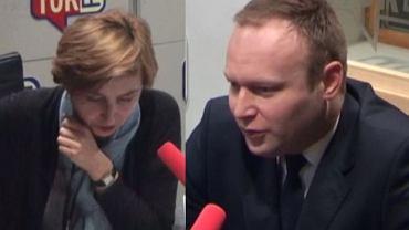 """Marcin Mastalerek był gościem Dominiki Wielowieyskiej w """"Poranku Radia TOK FM"""""""