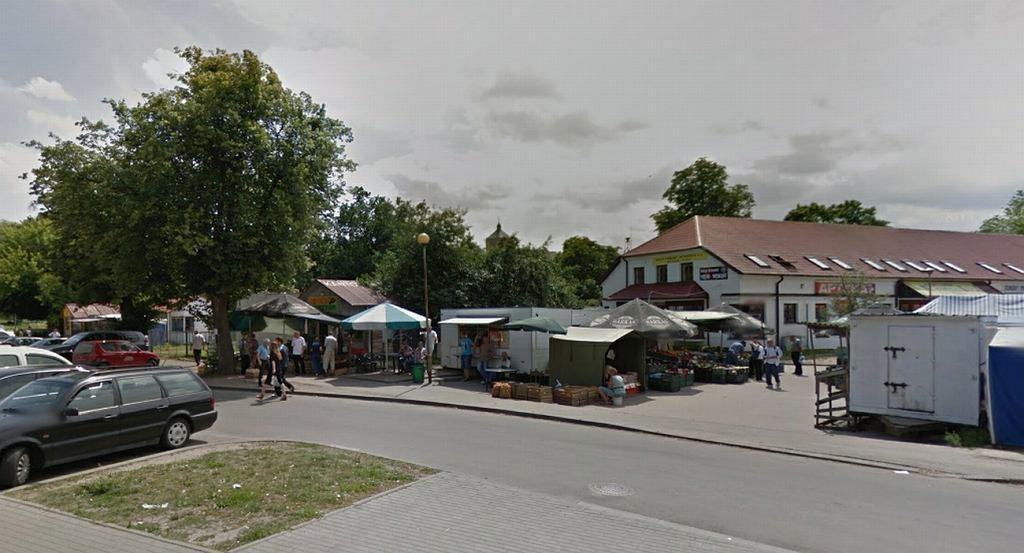 Targowisko miejskie w Braniewie