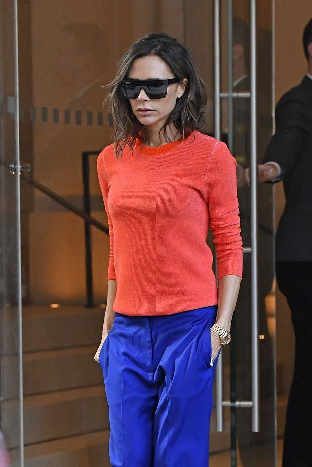 Zdjęcie numer 5 w galerii - David Beckham wybrał najlepszą stylizację Victorii EVER. Koronki? Kusa sukienka? Nic z tych rzeczy