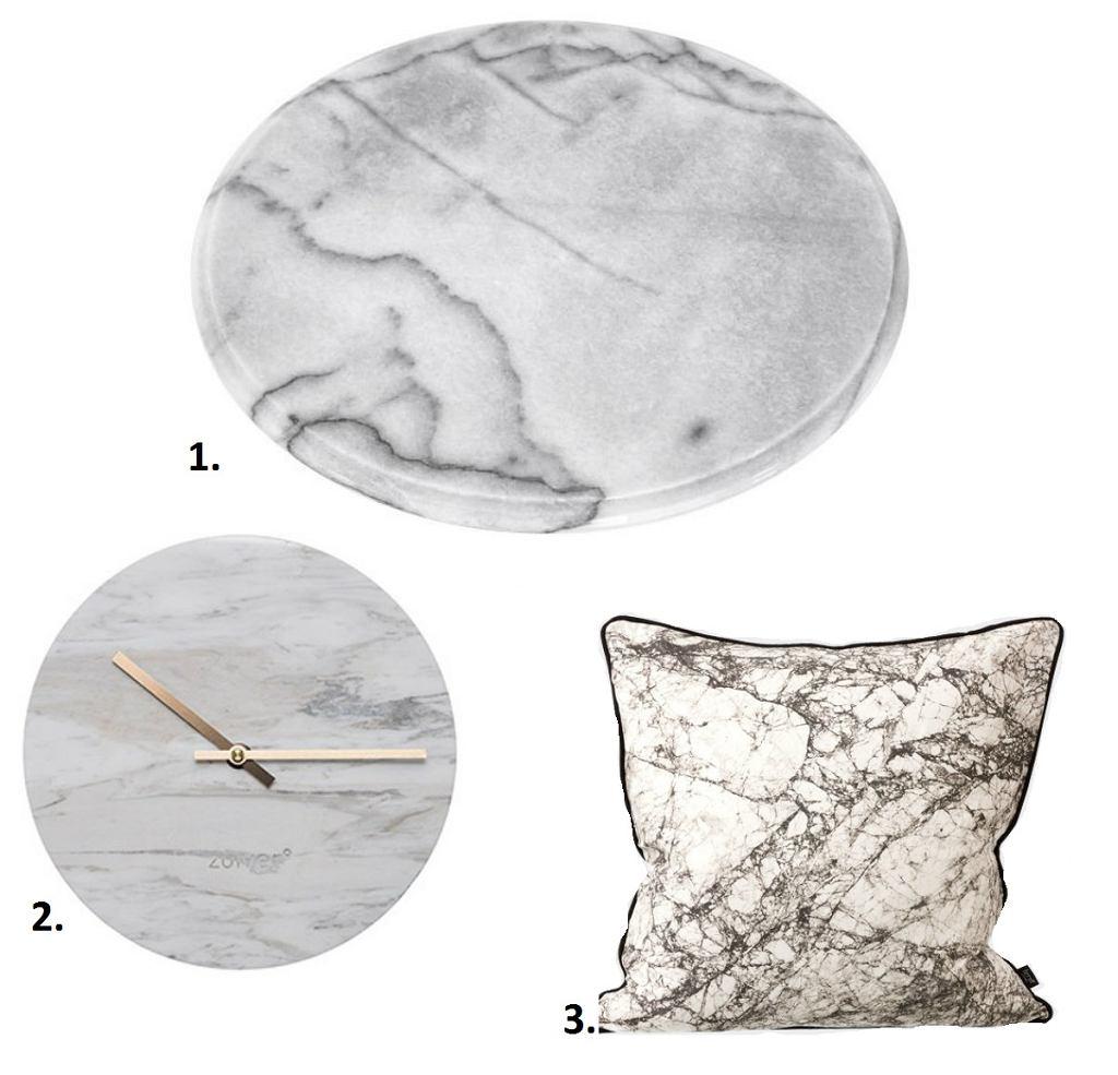 Dekoracje wnętrz: Marmur