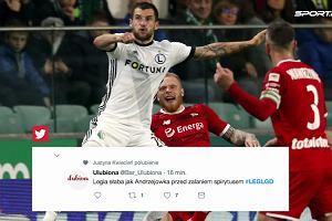"Ekstraklasa. Legia - Lechia 1:0. ""Jarosław, Legię zbaw"""