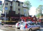 Po�ar znanej restauracji w Zakopanem. Trzy osoby s� ranne, w tym jedna ci�ko