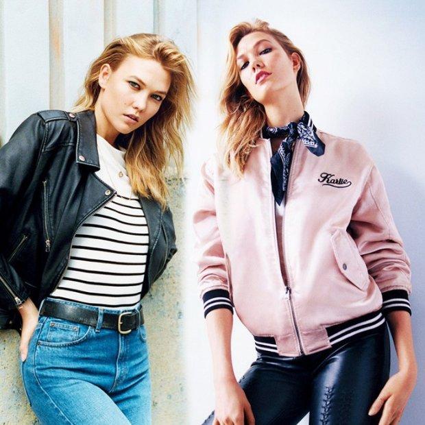 Supermodelka Karlie Kloss została twarzą nowej kampanii brytyjskiej marki Topshop