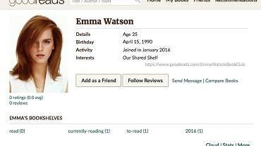 Emma Watson zakłada feministyczny klub książki