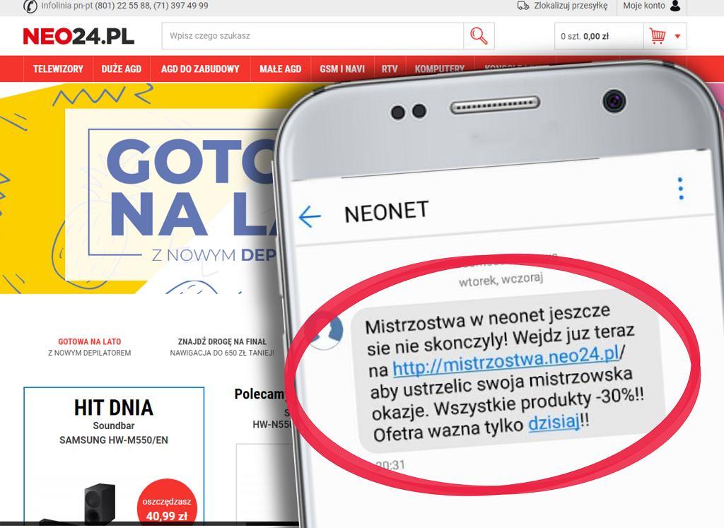 Fałszywa promocja. Neo24.pl odcina się od akcji