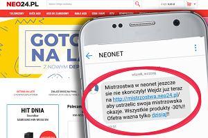 Włamanie do popularnego sklepu internetowego sieci Neonet. Przestępcy wyłudzili pieniądze