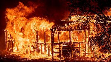 Pożary w Północnej Kalifornii