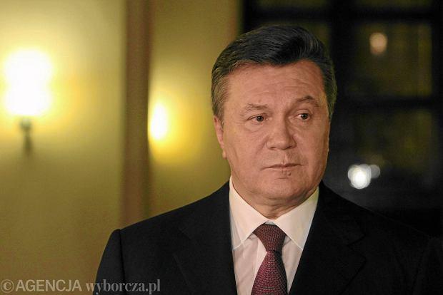 Janukowycz w pierwszym wywiadzie dla zachodnich medi�w: Nie dosz�oby do aneksji Krymu, gdybym pozosta� na stanowisku