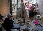 Uparta radość życia w Strefie Gazy