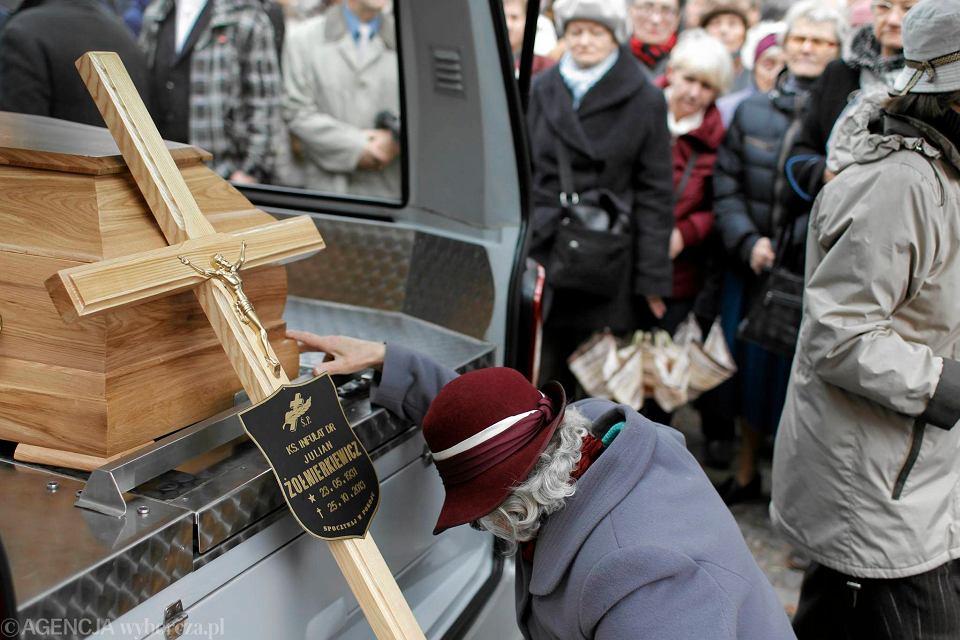 28 października 2013 r. Pogrzeb ks. Juliana Żołnierkiewicza