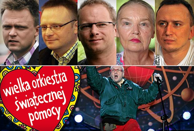 Szymon Hołownia, Łukasz Warzecha, Maciej Stuhr, Jadwiga Staniszkis, Mikołaj Lizut