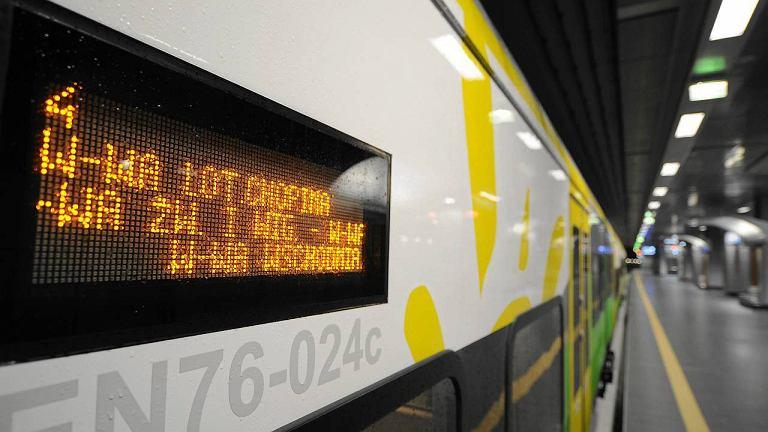 Seria awarii pociągów Kolei Mazowieckich spowodowała opóźnienia