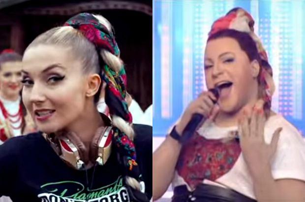 """""""My Słowianie"""" Cleo i Donatana w wykonaniu greckiego wokalisty w programie """"TTBZ"""" bije w sieci rekordy oglądalności."""