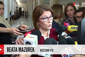 Beata Mazurek o projekcie zakazującym aborcję: Życie ludzkie nie ma ceny. Nie widzę powodów, żebyśmy tego nie popierali