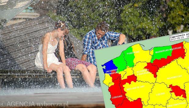 Pogoda już jak w lecie, a jutro będzie najgorętszy dzień od początku roku. Gdzie najcieplej?