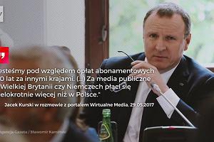 PiS chce, żebyśmy wszyscy płacili na TVP. A na niepłacących czeka wysoka kara