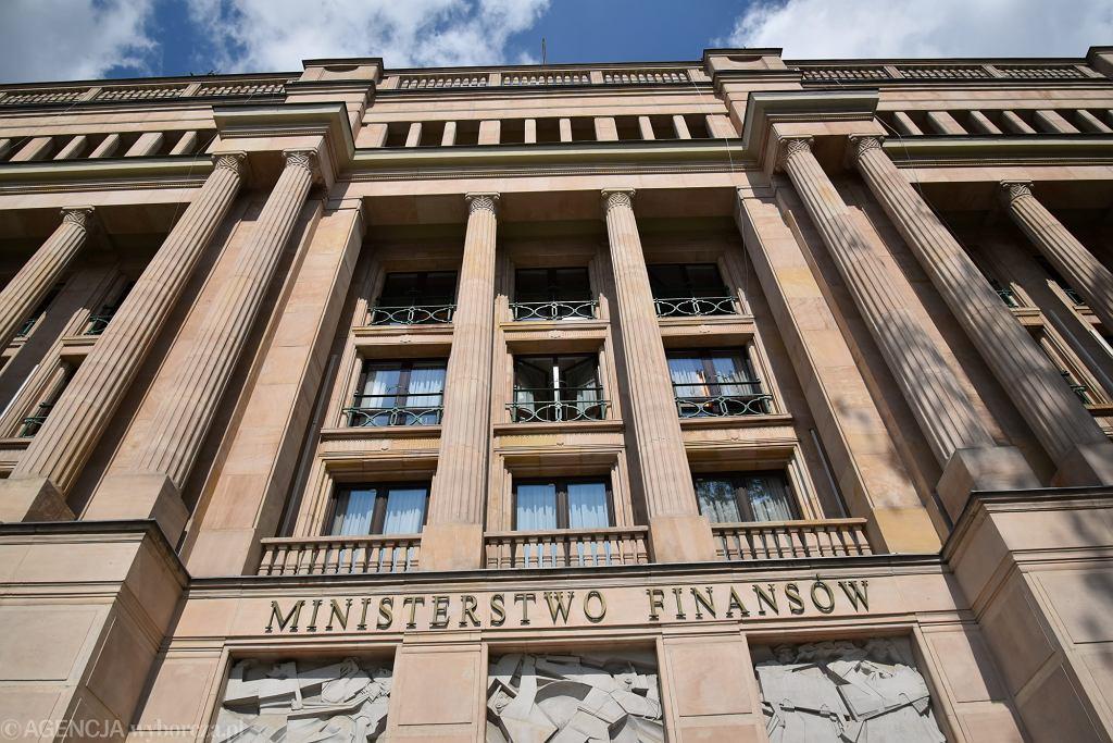 Ministerstwo finansów w Warszawie.