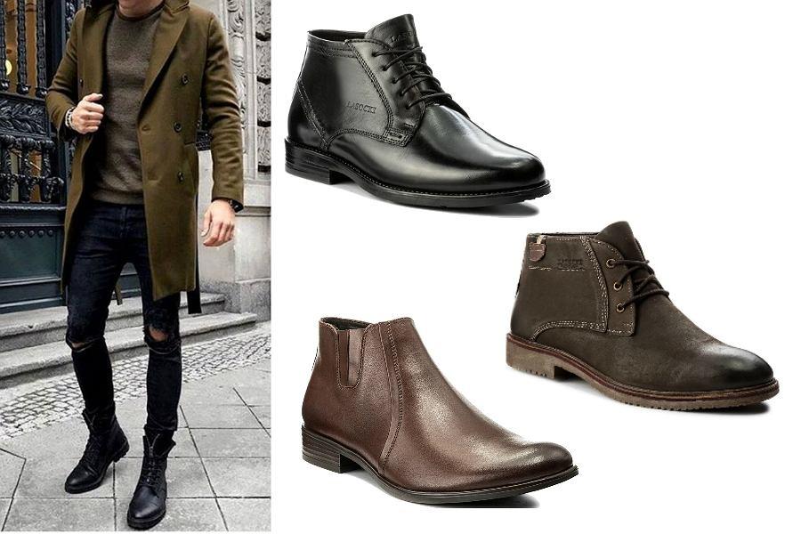 d105cdbc53e08 Eleganckie, męskie buty na zimę Lasocki