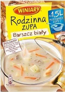 Nowe Rodzinne Zupy WINIARY w 5-ciu smakach - po�ywna zupa dla ca�ej rodziny