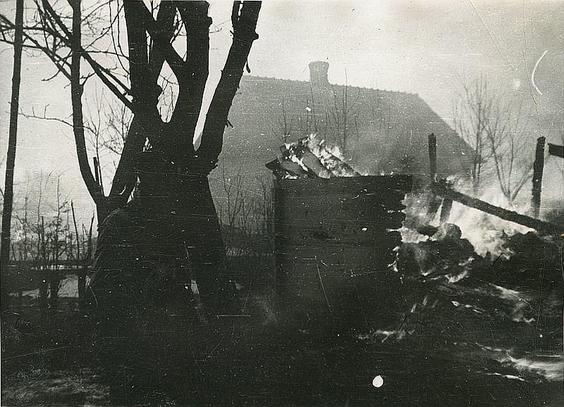Sahryń, 10 marca 1944 r. Akcja odwetowa oddziału tomaszowskiego obwodu AK wobec ukraińskich mieszkańców wsi. Muzeum Regionalne w Tomaszowie Lubelskim