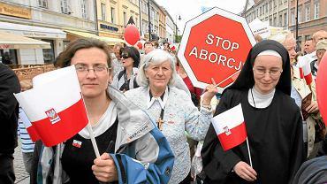 """""""Marsz dla życia i rodziny"""". Warszawa 30 maja 2010 r."""