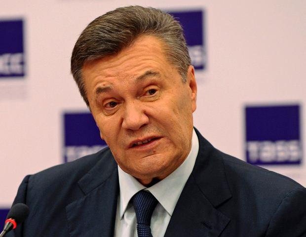 Ukraina: Wiktor Janukowycz podejrzany o zdradę stanu