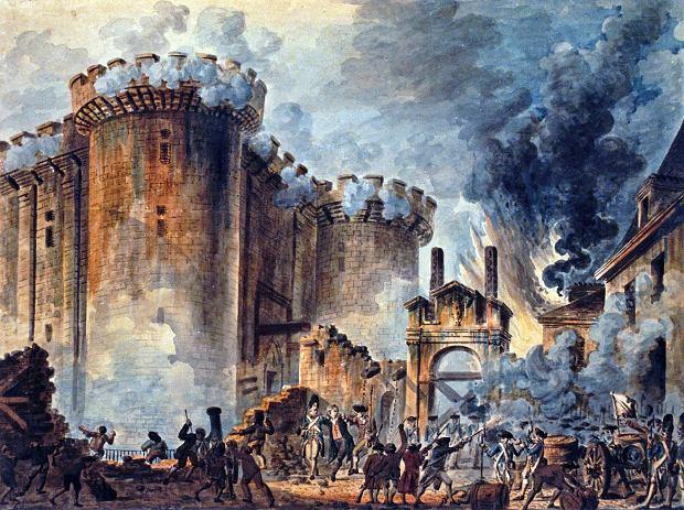 Zdobycie Bastylii w 1789 r.